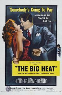 THE BIG HEAT/CLASH BY NIGHT Movie Poster