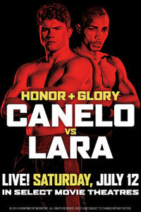 Honor and Glory: Canelo vs. Lara Movie Poster