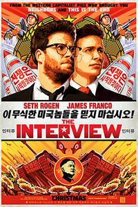 The Interview (2014) Movie Poster