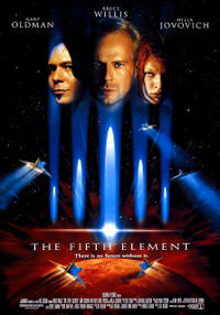 The Fifth Element/Subway Movie Poster