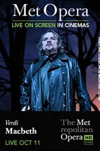 The Metropolitan Opera: Macbeth Movie Poster