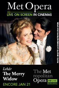 The Metropolitan Opera: The Merry Widow Encore Movie Poster