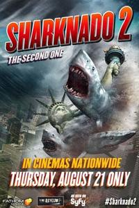 Sharknado 2: The Second One Movie Poster