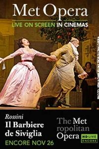 The Metropolitan Opera: Il Barbiere di Siviglia Encore Movie Poster