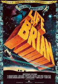 LIFE OF BRIAN/ERIK THE VIKING Movie Poster