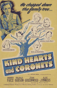 KIND HEARTS AND CORONETS/THE LAVENDER HILL MOB Movie Poster