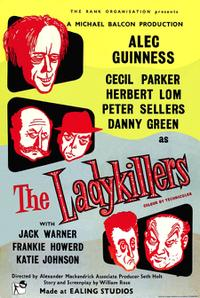 THE LADYKILLERS/THE MAN IN THE WHITE SUIT Movie Poster