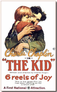 THE KID/MODERN TIMES Movie Poster