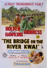THE BRIDGE ON THE RIVER KWAI/DAMN THE DEFIANT! Movie Poster