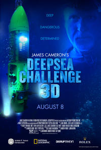 James Cameron's Deepsea Challenge Movie Poster
