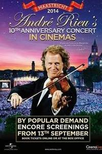 Andre Rieu's Maastricht 2014 (10th Anniversary) Concert Movie Poster
