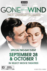 TCM Presents Gone with the Wind Movie Poster