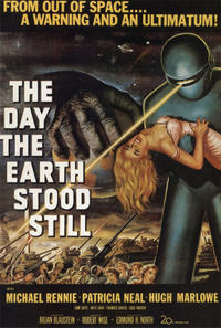THE DAY THE EARTH STOOD STILL/THE ANDROMEDA STRAIN Movie Poster