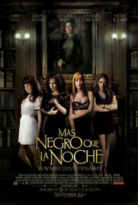 Mas Negro Que La Noche Movie Poster