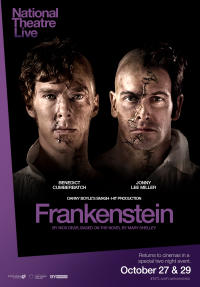 Frankenstein (Cumberbatch as Creature) Encore 2014 Movie Poster