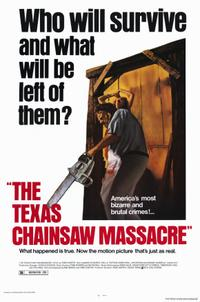 TEXAS CHAIN SAW MASSACRE/HOUSE OF THE DEVIL Movie Poster