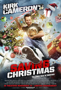 Kirk Cameron's Saving Christmas Movie Poster