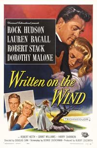 WRITTEN ON THE WIND/YOUNG MAN WITH A HORN Movie Poster