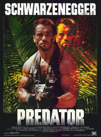 PREDATOR/ACTION JACKSON Movie Poster