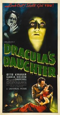 Dying For Deco/DRACULA'S DAUGHTER Movie Poster