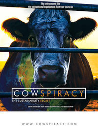 Cowspiracy: The Sustainability Secret Movie Poster
