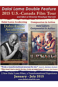 Dalai Lama Double Feature Movie Poster