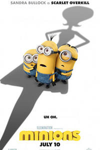 Minions (2015) Movie Poster