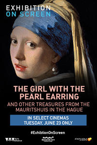Exhibition On Screen: The Girl With the Pearl Earring and Other Treasures From Maurtishuis Movie Poster