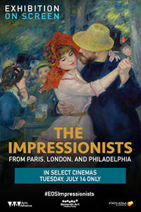 Exhibition OnScreen: The Impressionists Movie Poster