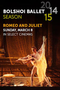 Bolshoi Ballet: Romeo And Juliet (2015) Movie Poster