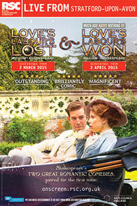 RSC Live: Love's Labour's Won Movie Poster
