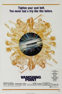 VANISHING POINT / FEAR IS THE KEY Movie Poster