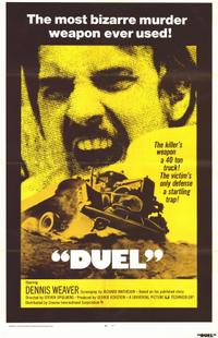 DUEL / THE CAR Movie Poster