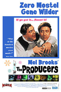 The Producers / A Funny Thing Happened on the Way to the Forum Movie Poster