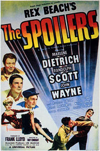 The Spoilers / Pittsburgh Movie Poster