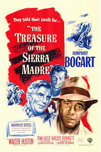 The Treasure of The Sierra Madre / White Heat Movie Poster