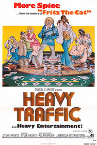 HEAVY TRAFFIC / AMERICAN POP Movie Poster