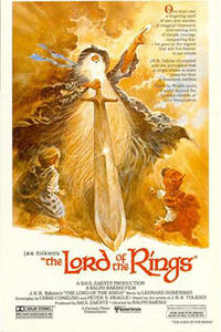 The Lord of the Rings (1978) / Wizards Movie Poster