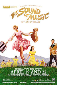 TCM Presents The Sound Of Music 50th Anniversary (2015) Movie Poster