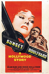 SUNSET BOULEVARD / ACE IN THE HOLE Movie Poster