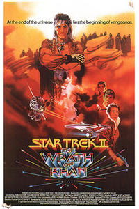 STAR TREK II III IV Movie Poster