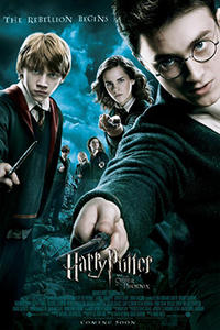 HARRY POTTER 5-8 Movie Poster