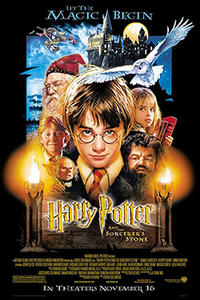 Harry Potter 1-4 Movie Poster
