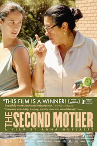 The Second Mother Movie Poster