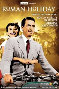 TCM Presents Roman Holiday Movie Poster