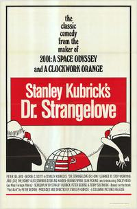 Dr. Strangelove / The Loved One Movie Poster