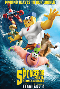 AMC Cares - The SpongeBob Movie: Sponge Out of Water Movie Poster