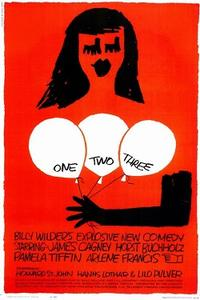 One, Two, Three / Kiss Me, Stupid Movie Poster