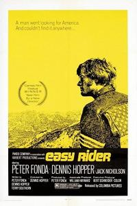 Easy Rider / Zabriskie Point Movie Poster