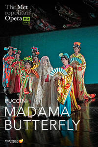 The Metropolitan Opera: Madama Butterfly LIVE Movie Poster